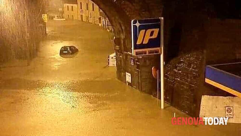 Alluvione Valpolcevera | Danni e allagamenti negozi, locali