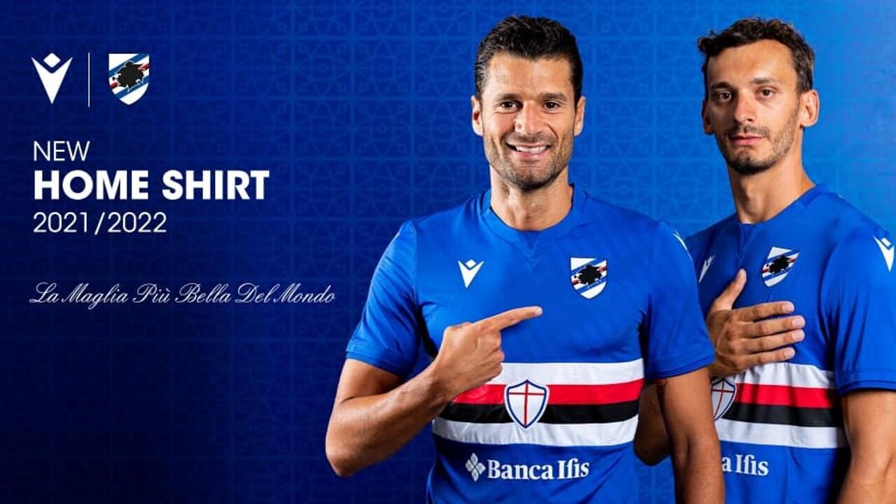 Sampdoria nuova maglia 2021 2022 | La maglia più bella del mondo