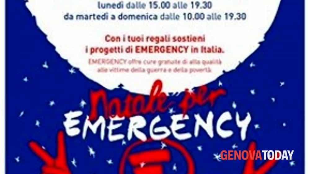 Emergency Regali Di Natale.Natale 2016 Regali Solidali Nello Spazio Emergency A Genova