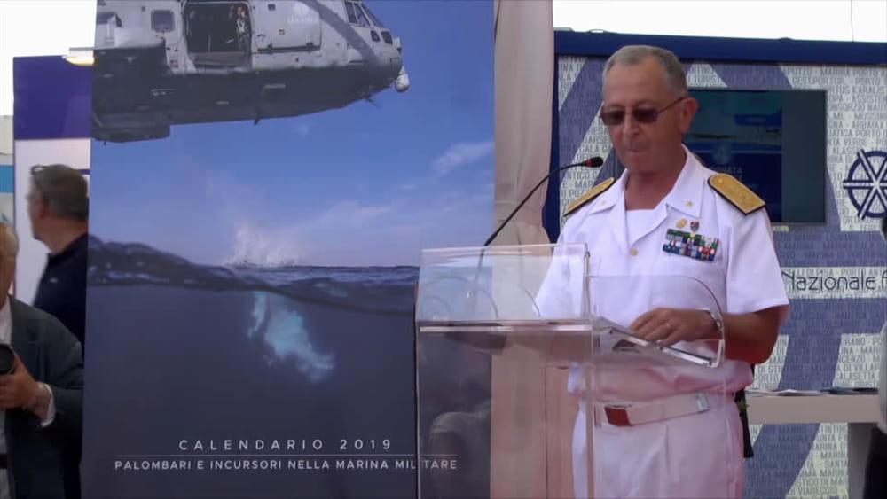 Calendario Marina Militare 2019.Presentato Al Salone Nautico Il Calendario Della Marina